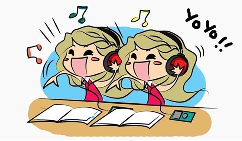 học bằng cách nghe thường xuyên