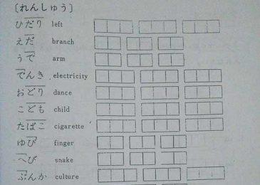 Sách học bảng chữ cái tiếng Nhật