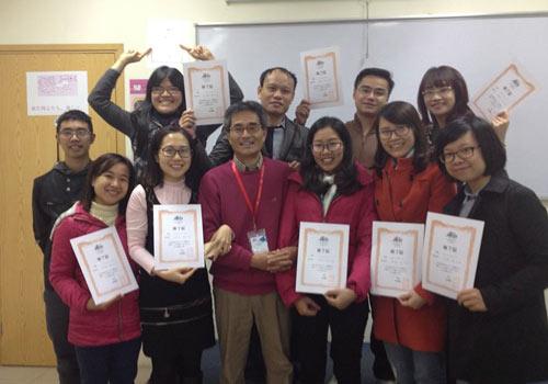 Lớp học vui vẻ và nhiều cảm hứng tại Akira