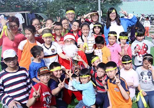 đại hội thể thao cho trẻ em tại hà nội