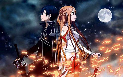 Học tiếng nhật đúng cách với anime Sword Art Online