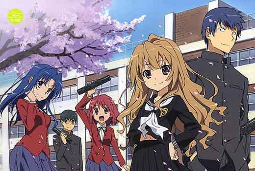 Học tiếng Nhật đúng cách với anime ToraDora