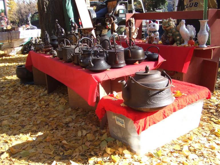 Chợ trời đền Yashukuni