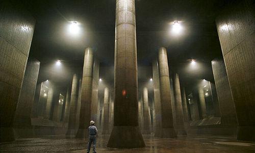cống khổng lồ dưới lòng tokyo