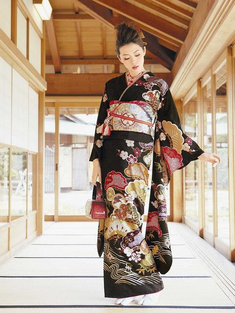 kimono nhật bản1