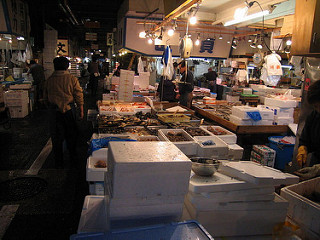 Chợ cá Tsukiji, Tokyo