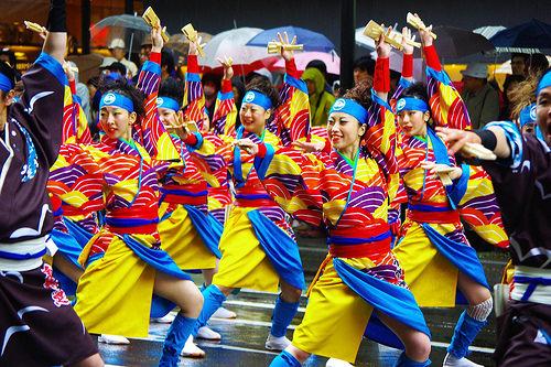 múa yosakoi không bao giờ buồn