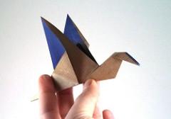 nghệ thuật gấp giấy origami1