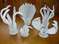 nghệ thuật gấp giấy origami2
