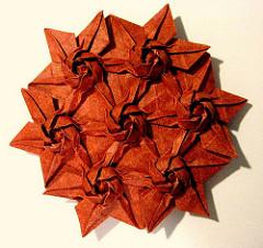 nghệ thuật gấp giấy origami4