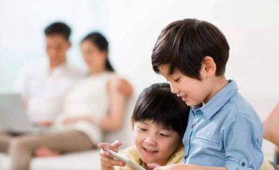 công nghệ không tốt cho trẻ em