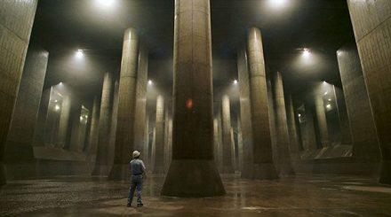 Hệ thống cống khổng lồ dưới lòng Tokyo.