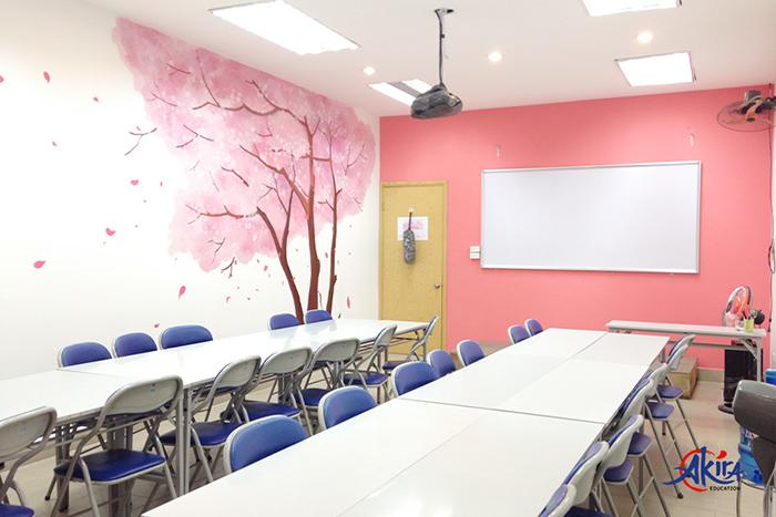 Phòng học mang phong cách Nhật Bản