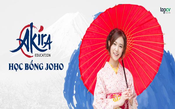Học bổng Joho du học Nhật Bản hỗ trợ 100% học phí