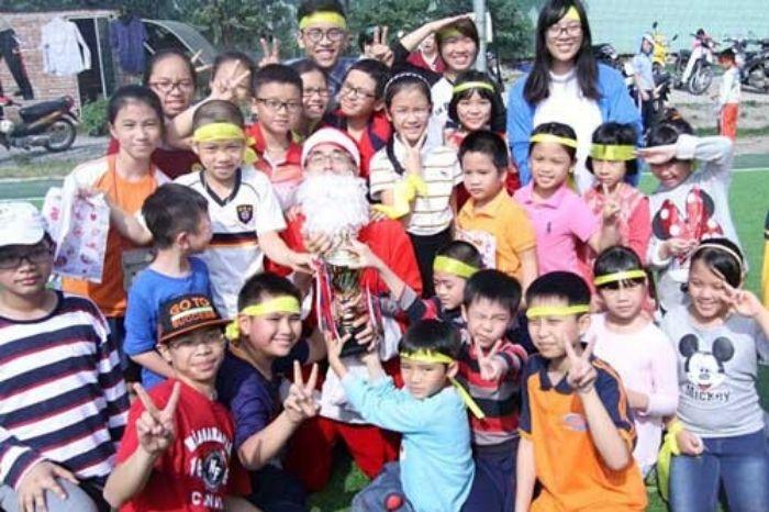 Đại hội thể thao lớp tiếng Nhật cho trẻ em