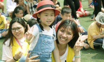 Sự kiện Ngày hội thể thao Akira Olympic Kids của Lớp Tiếng Nhật trẻ em