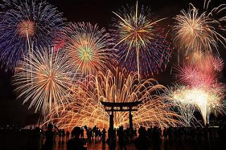 Đắm mình trong không khí tuyệt vời tại lễ hội pháo hoa Hanabi