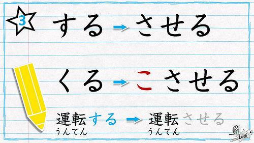 Ngữ pháp dạng sai khiến trong tiếng Nhật