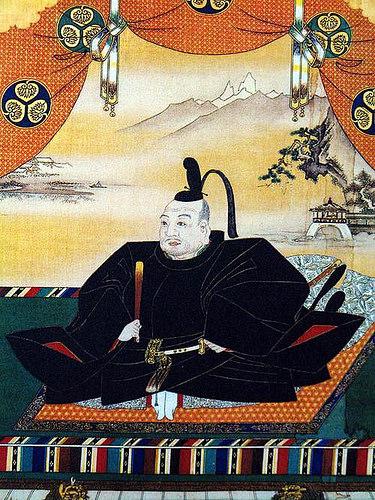 Tướng quân Tokugawa Ieyasu, người thành lập Mạc phủ