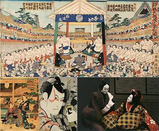 """Sumo, Geisha, Kabuki, Bunraku - những sản phẩm của """"văn hóa thị dân"""""""