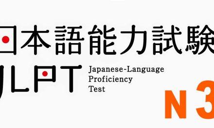 Đề thi thử JLPT N3