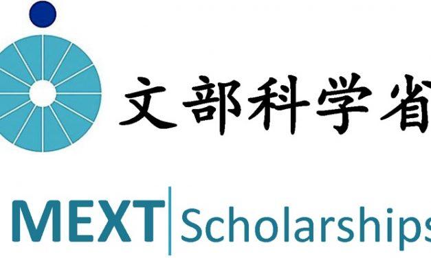 Các loại học bổng chính phủ Nhật Bản (MEXT)