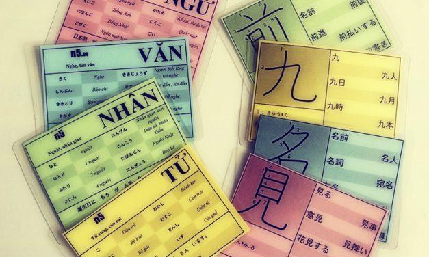 Một số cách học Kanji