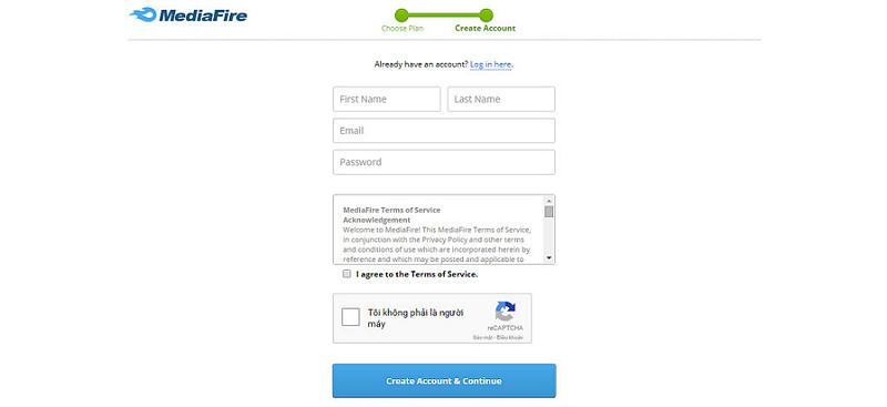 Hướng dẫn upload file lên mediafire/google drive