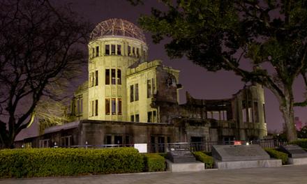 Khu tưởng niệm hòa bình Hiroshima-chứng nhân sống cho sự phá hủy kinh hoàng của bom nguyên tử