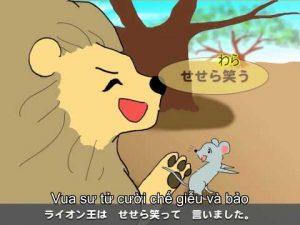 Truyện vua sư tử và chuột