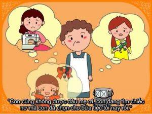 Câu chuyện Chiếc bánh Pudding