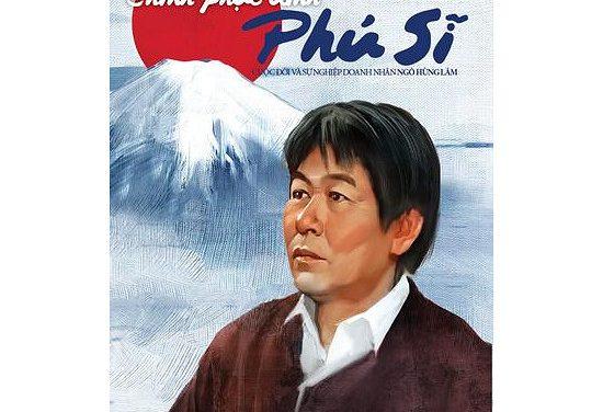 """Sách """"Chinh phục đỉnh Phú Sĩ """" tác giả Quách Đức Anh- Giám đốc trung tâm Akira"""
