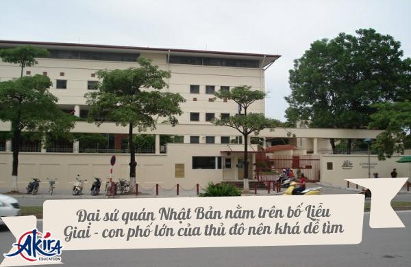Đại sứ quán Nhật Bản tại hà Nội Việt Nam