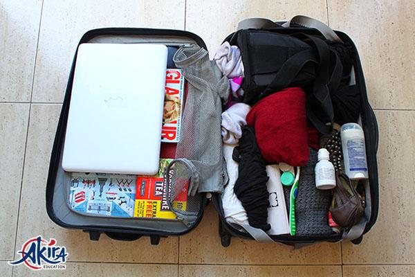 Hành lý du học Nhật Bản