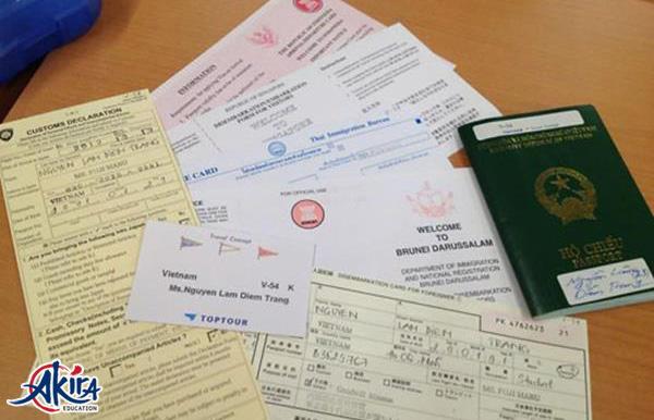 Hồ sơ xin Visa du học Nhật Bản