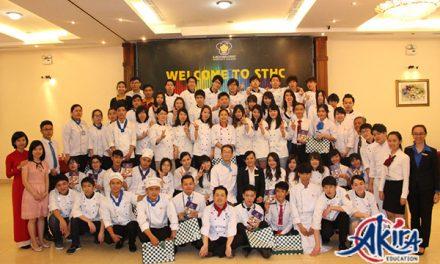Sinh viên trường Oita, Nhật Bản tới tham quan mô hình dạy tiếng Nhật tại Akira