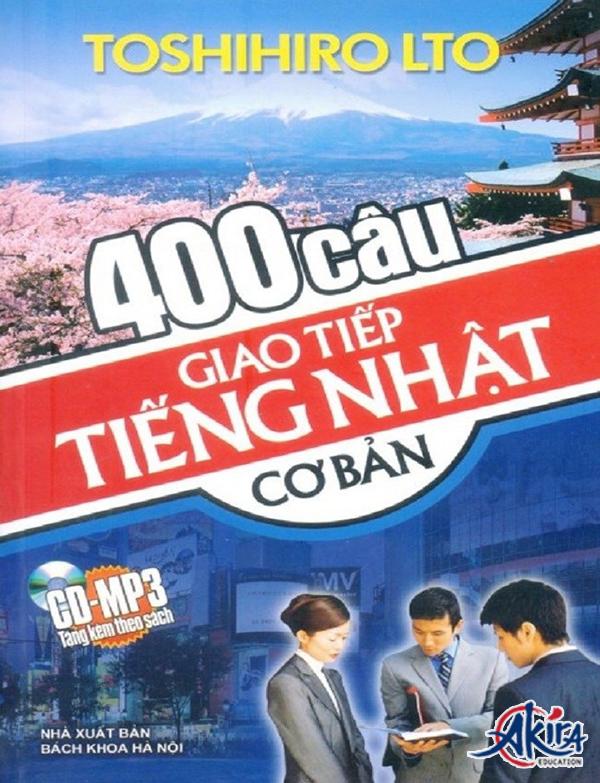 400 câu giao tiếp tiếng Nhật