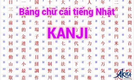Những tài liệu học tiếng Nhật Kanji bạn không thể bỏ qua