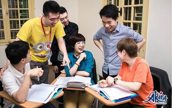 Học tiếng Nhật cùng người khác là một cách học hiệu quả