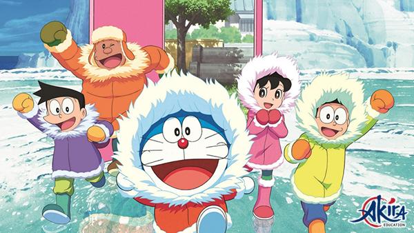 Doraemon - bộ truyện tranh nổi tiếng giúp bạn học từ vựng tiếng Nhật dễ dàng hơn
