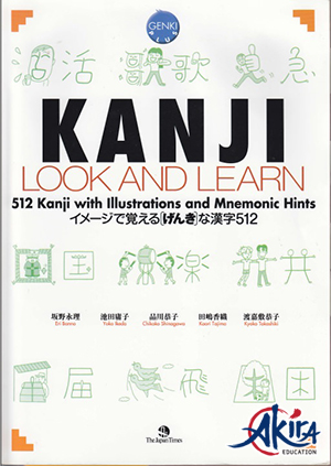 Sách Kanji Look and Learn