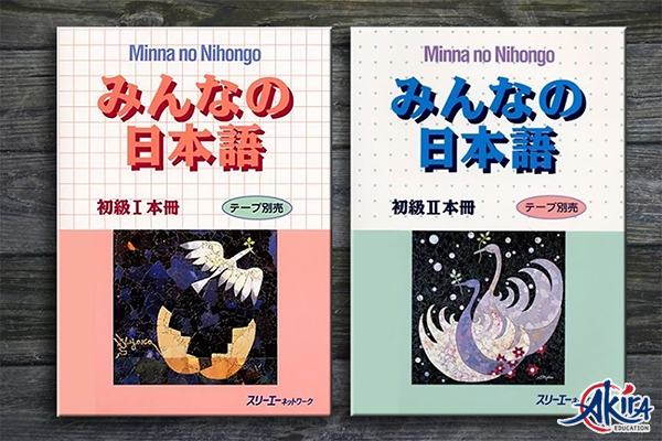 Sách tiếng Nhật Minna No Nihongo