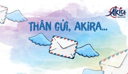 """""""Thân gửi, Akira…"""" – Hòm thư đặc biệt mừng sinh nhật Akira tròn 5 tuổi"""
