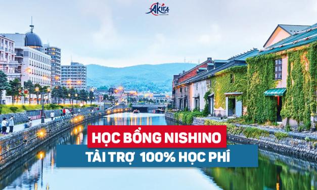 Học bổng Akira Nishino – Tài trợ 100% học phí du học Nhật Bản