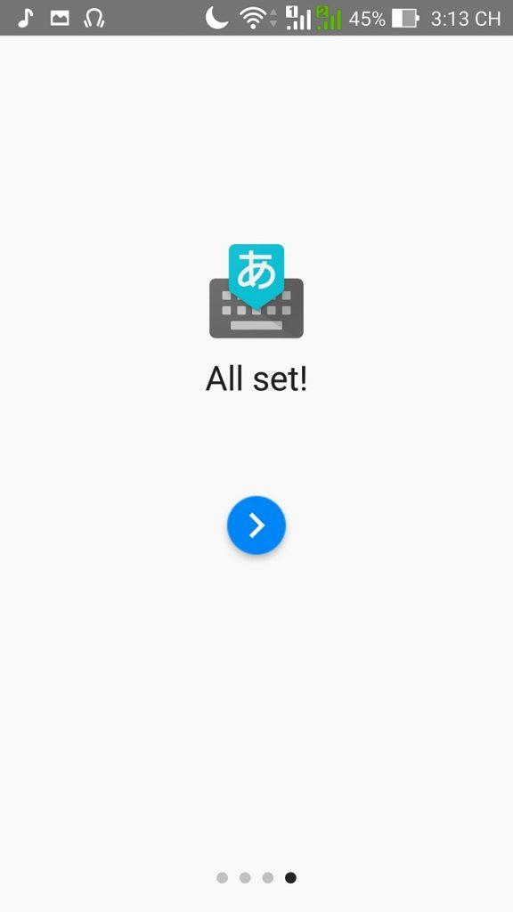 Cài bộ gõ tiếng Nhật trên điện thoại android