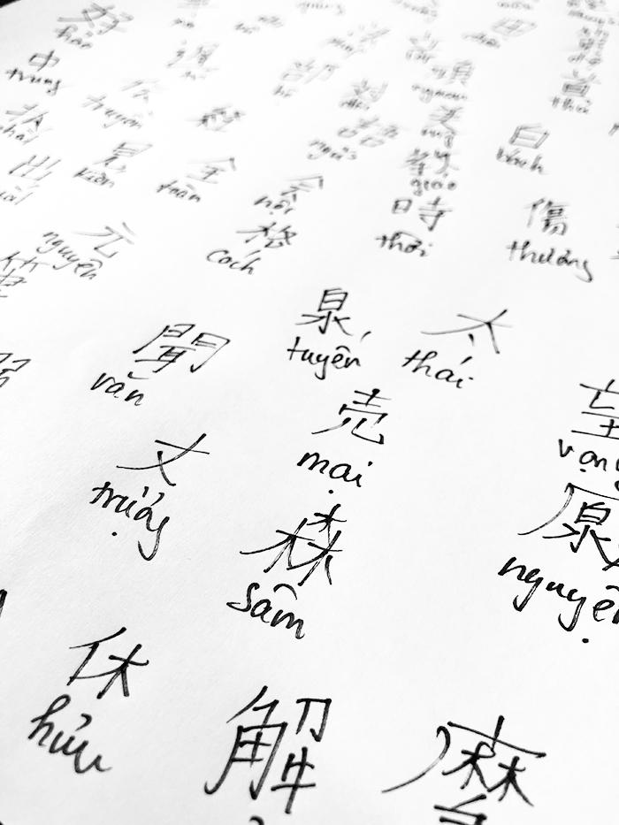 Viết Kanji tiếng Nhật