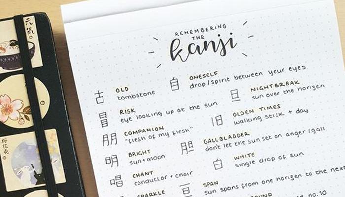 Tổng hợp danh sách chữ Hán N3