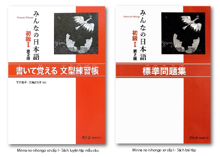 Giáo trình minna no nihongo 1 luyện tập mẫu câu, sách bài tập ngữ pháp