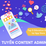 Tuyển dụng Content Admin [Global Project]